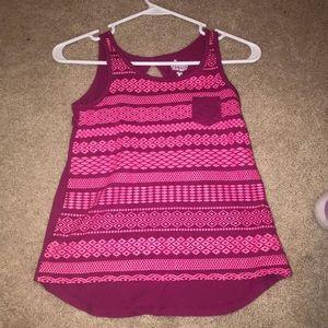 Girls Pink Tank top